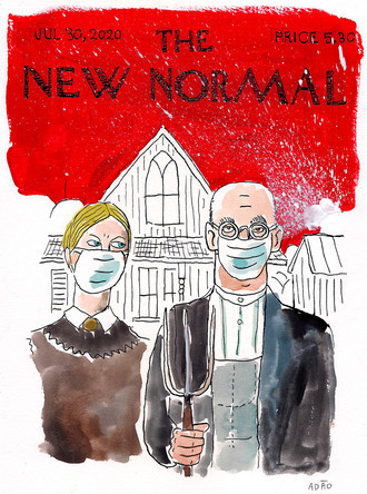 The New Normal Jul 30 2020 FINE ART A4