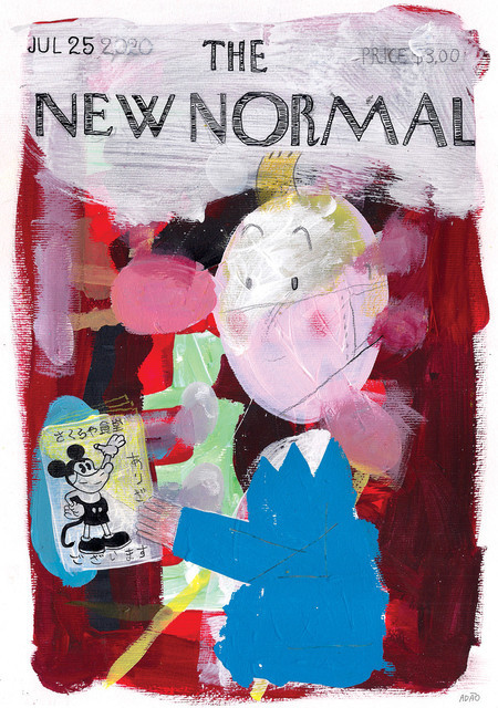 The New Normal Jul 25 2020 PRINT A3