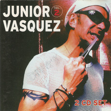 CD JUNIOR VASQUEZ - JUNIOR VASQUEZ VOL.2 (USADO) CD DUPLO IMP