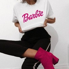 T-shirt Barbie Pink