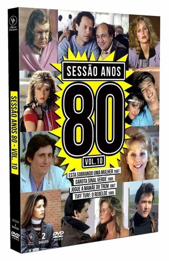 DVD BOX SESSÃO ANOS 80 VOLUME 10 (2020) (02 DVDS/ NOVO/LACRADO)