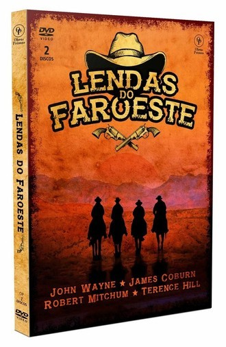 DVD BOX LENDAS DO FAROESTE (2 DVDS/NOVO/LACRADO)