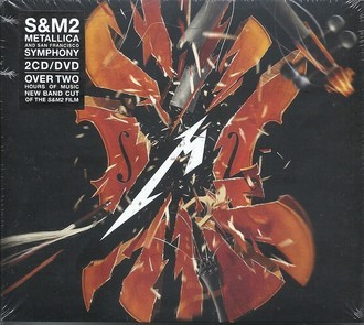 CD METALLICA - S&M2 (BOX 2 CDs + DVD) (NOVO/LACRADO) IMPORTADO