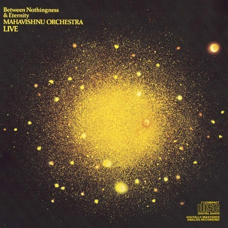 CD MAHAVISHNU ORCHESTRA LIVE - BETWEEN NOTHINGNESS... (USADO/IMP)