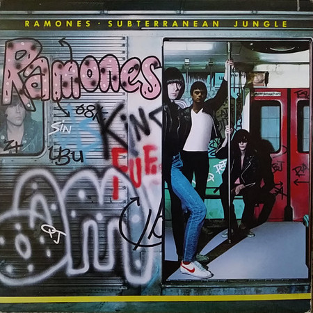 CD RAMONES - SUBTERRANEAN JUNGLE (IMP/NOVO/LACRADO)