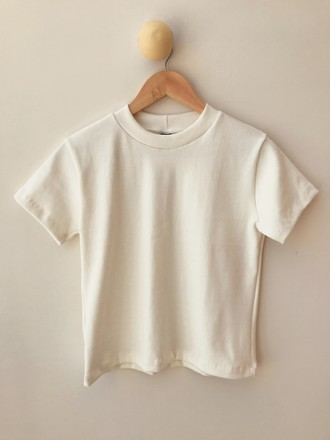 Cropped Basic Offwhite
