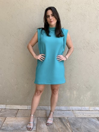 Vestido Aba Sea Green