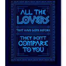 All The Lovers (Poster)