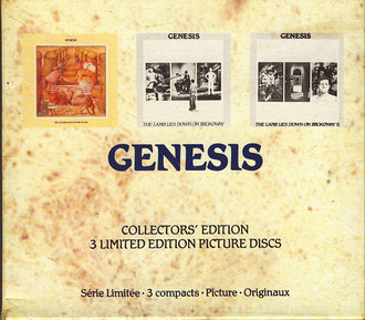 CD BOX GENESIS - SELLING ENGLAND BY THE POUND/THE LAMB LIES (USADO)