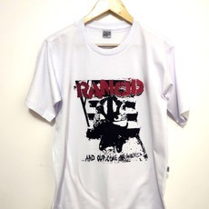 Camiseta RANCID - ...AND OUT COME THE WOLVES (COR BRANCA)