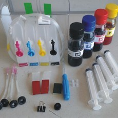 BULK INK HP B210 + 250ML TINTA + VIDEO AULA RECARGA 564