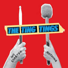 CD THE TING TINGS  WE STARTED NOTHING (USADO/IMP)