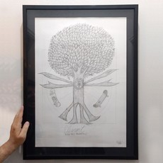Arte Original Pushin Tree Proportions