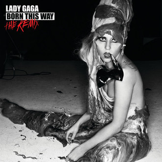 CD LADY GAGA - BORN THIS WAY  - THE REMIX  (NOVO/LACRADO)