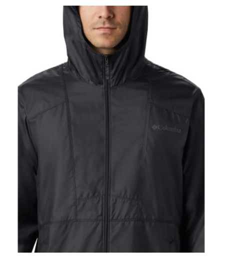 Jaqueta Columbia Flashback Windbreaker - Preto
