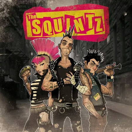 CD THE SQUINTZ - THE SQUINTZ (USADO)