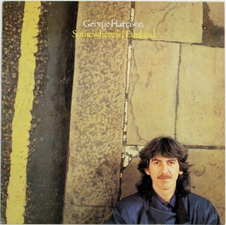 LP George Harrison - Somewhere In England ( Importado )