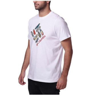 Camiseta Columbia Masculina Pocket Knife Gem