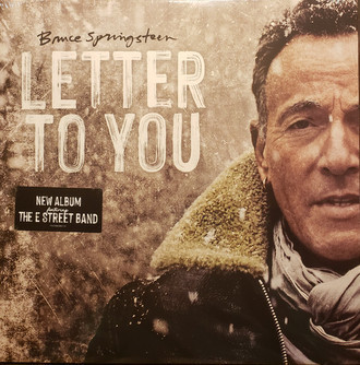 LP BRUCE SPRINGSTEEN - LETTER TO YOU (NOVO/LACRADO) LP DUPLO IMP