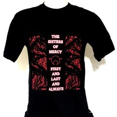 Camiseta THE SISTERS OF MERCY - FIRST AND LAST AND ALWAYS (COR PRETA)