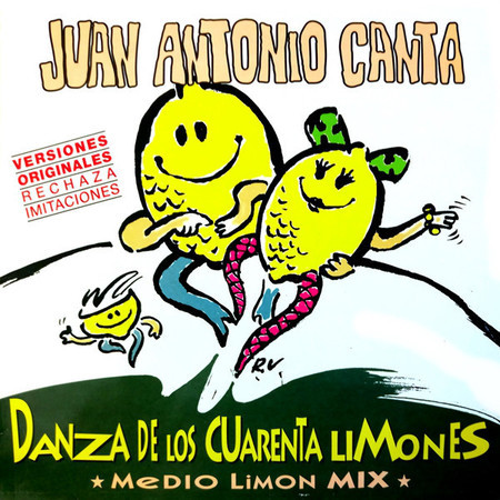 CD JUAN ANTONIO CANTA - DANZA DE LOS (USADO/IMP) (CD SINGLE)