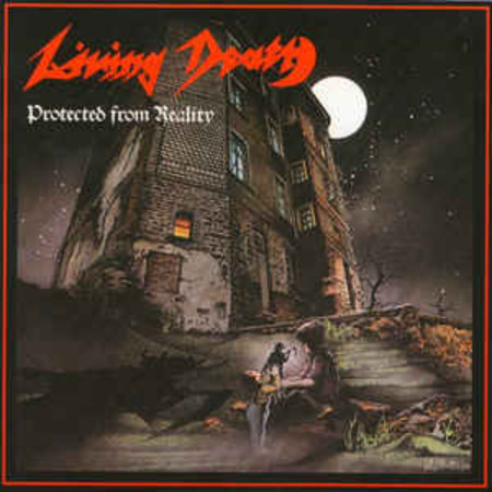 CD LIVING DEATH - PROTECTED FROM REALITY (NOVO/LACRADO/SLIPCASE)