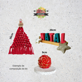 Kit Decor Natal - BLACK FRIDAY