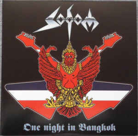 CD SODOM - ONE NIGHT IN BANGKOK (DUPLO/NOVO/LACRADO)