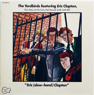 LP The Yardbirds Featuring Eric (Slow-Hand) Clapton ( Imp. )