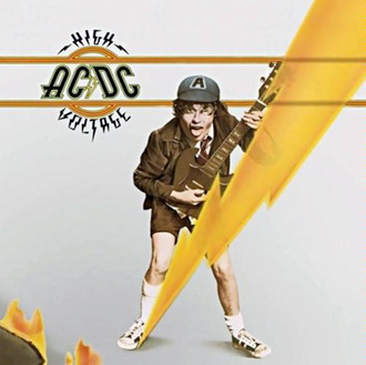 LP AC/DC - HIGH VOLTAGE (NOVO/LACRADO) 180g