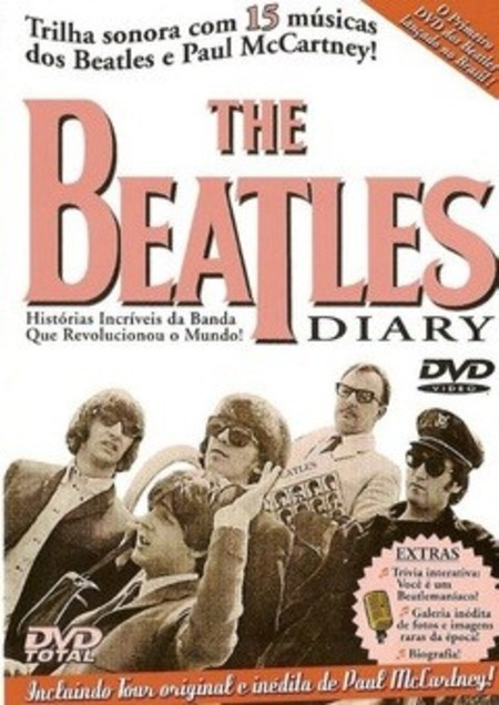 DVD THE BEATLES DIARY (USADO)