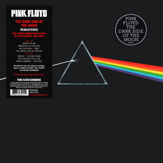 LP PINK FLOYD - THE DARK SIDE OF THE MOON (NOVO/LACRADO)