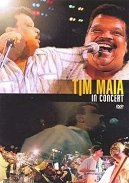 DVD TIM MAIA - IN CONCERT (USADO)