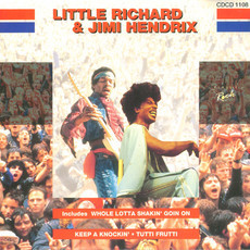 CD LITTLE RICHARD / JIMI HENDRIX - LITTLE RICHARD (USADO)