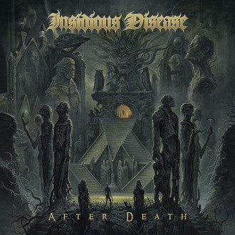 CD INSIDIOUS DISEASE - AFTER DEATH  (NOVO/LACRADO)