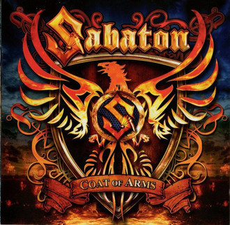 CD SABATON - COAT OF ARMS (NOVO/LACRADO)