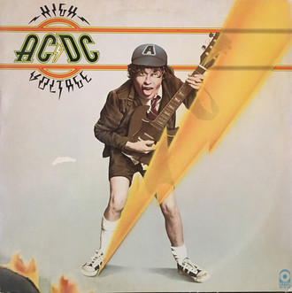 CD AC/DC - HIGH VOLTAGE  (NOVO/LACRADO)