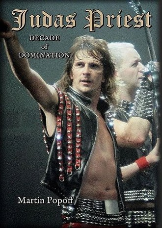 LIVRO JUDAS PRIEST DECADE OF DOMINATION - MARTIN POPOFF