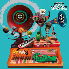 CD GORILLAZ - SONG MACHINE (NOVO/LACRADO)