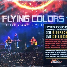 CD FLYING COLORS - THIRD STAGE LIVE IN LONDON (NOVO/LACRADO)CD2+DVD