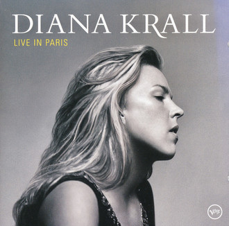 CD DIANA KRALL - LIVE IN PARIS (USADO)