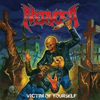 LP NERVOSA - VICTIM OF YOURSELF (VINIL AMARELO/NOVO)