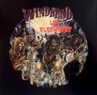 LP WINDHAND - LIVE ELSEWHERE (NOVO/IMP) LP DUPLO