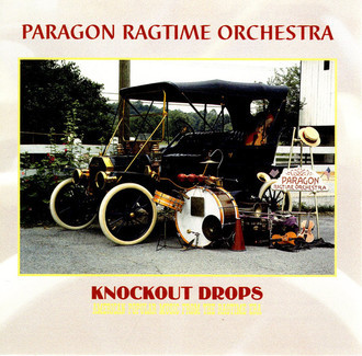 CD PARAGON RAGTIME ORCHESTRA - KNOCKOUT DROPS (USADO/IMP)