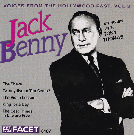 CD JACK BENNY - VOICES FROM THE HOLLYWOOD PAST, VOL. 2 (USADO/IMP)