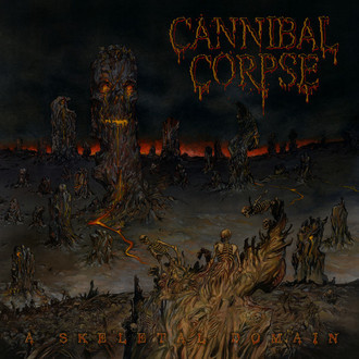 CD CANNIBAL CORPSE - A SKELETAL DOMAIN (NOVO/LACRADO)