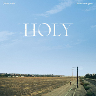 CD JUSTIN BIEBER, CHANCE THE RAPPER - HOLY (NOVO/LACRADO)