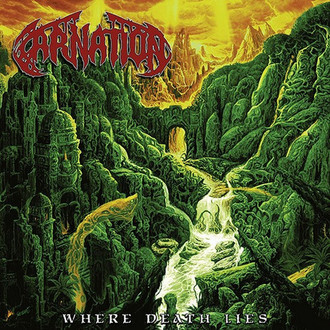 CD CARNATION - WHERE DEATH LIES (NOVO/LACRADO/SLIPCASE)