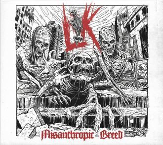 CD LIK - MISANTHROPIC BREED (NOVO/LACRADO/SLIPCASE)