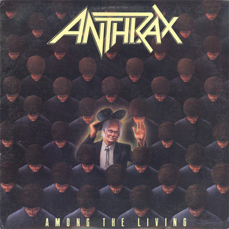 CD ANTHRAX - AMONG THE LIVING (IMP/NOVO/LACRADO)
